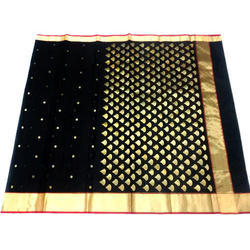 Printed Chanderi Ladies Saree
