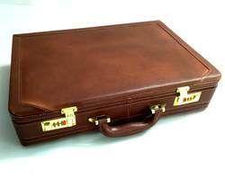 Genuine Leather Expendable Attache
