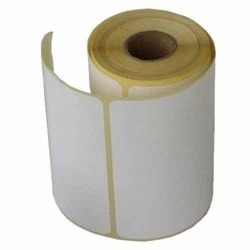 White Plain Label, Packaging Type: Roll