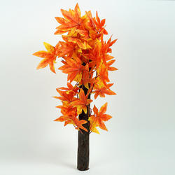 Hyperboles Orange Artificial Maple Plant