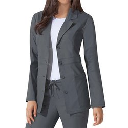 Female Grey and White Grey Full Sleeve Hospital Uniforms