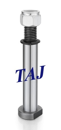 TAJ Tyre Axle Pin With Nylock Nut And Flat Spring Washer