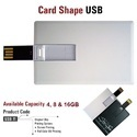 Credit Card Pen Drive 8gb