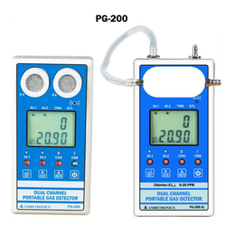 Dual Channel Portable Gas Detector PG-200