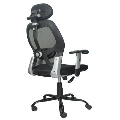 Executive Office Chair - High Back Mesh Chair with Head Rest