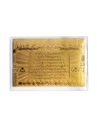 Navkar Mantra - 24K Gold Wallet Card
