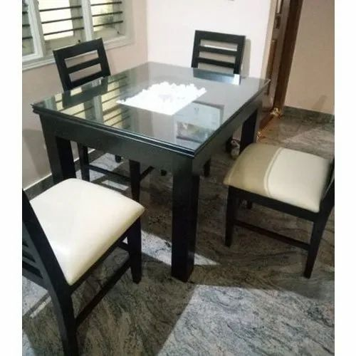 Wooden Dining Table Set 4 Seater Wooden Dining Table Set Manufacturer From Bengaluru