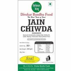 Divekar Bandhu Jain Chiwda, Packaging Size: 250 gm