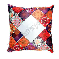 Red P-01 Sublimation Pillow With Cushion
