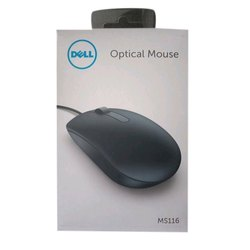 Black MS116 Dell USB Optical Mouse