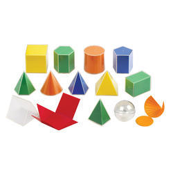 3D Solilds Set 10CM, Transparent
