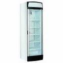 SS And Glass Vertical Bottle Chiller Refrigerator
