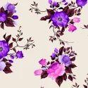 Digital Printed Floral Design Fabric