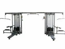 Mild Steel 5 Station Multi Gym for Household