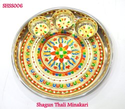 Shagun Thali Minakari