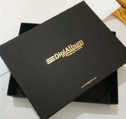 MDF & Velvet Box for Corporate, Size: 12*12 Inches