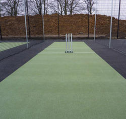 Green Aver Cricket Matting, Size: 66*9 Feet
