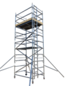 Aluminum Double Width Mobile Scaffolding Without Stair
