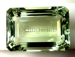 Green Amethyst Gemstone For Pendant