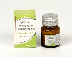 Thyroxine Sodium Tablets Packaging Type Bottles Id 20291784573