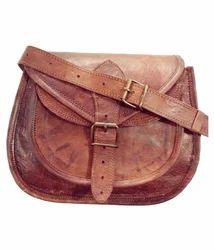 Women's Pure Leather Purse Satchel Handbag Tote Bag Sling