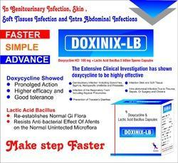Doxycycline with LB Capsules