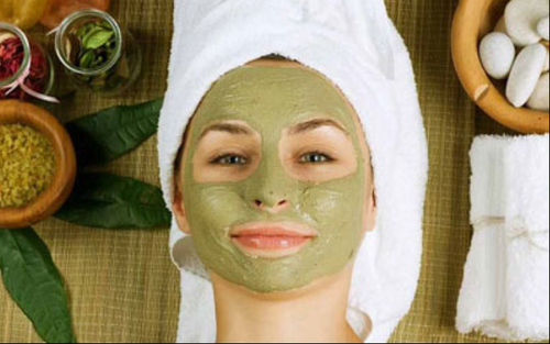 how to herbal facial