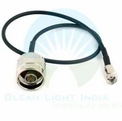 RF Cable Assemblies N Male to RP SMA Male in LMR 195
