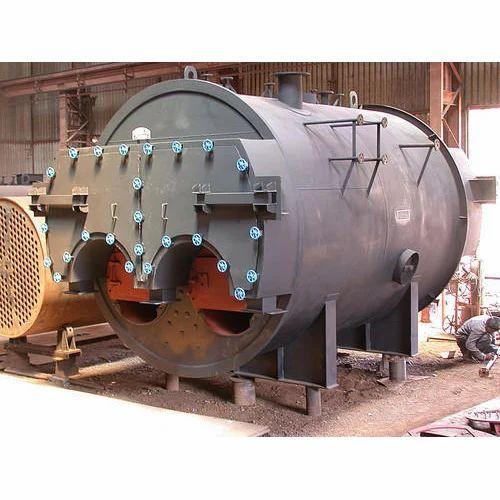 Dual Furnace Steam Boiler, Industrial Water Boiler - Tiwari ...