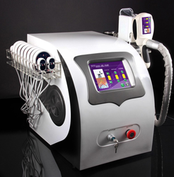 Cavitation And Cryolipolysis Lipo Laser Lipolysis Slimming Machine