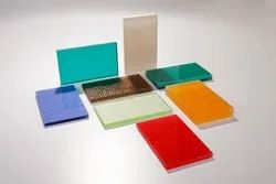 Colored Glass Sheets, Packaging Type: Wooden Box
