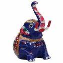 Meenakari Elephant Handicraft