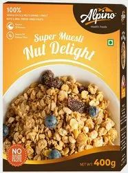 Alpino Muesli - Nut Delight, Packaging Type: Box