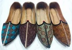 Men Handcrafted Rajasthani Shoes