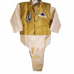 Cotton Designer Kids Ethnic Wear, Size: 0 Months -7 years