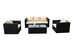 wicker outdoor sofa