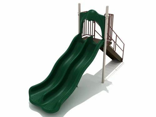 Plastic, Iron Kids Garden Slide, Size (centimetre): 150*90*80 Cm, Rs ...
