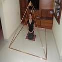 Pure Copper 6 Feet Meditation Pyramid