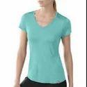 01 Ladies V Neck T-shirts