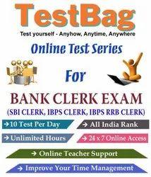 Testbag Online Test Series For Bank Clerk Exam