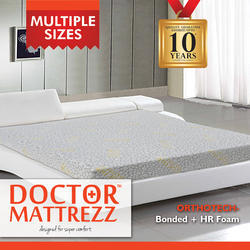 Dr Mattrezz Orthopedic Mattress ( Bonded   HR Foam)