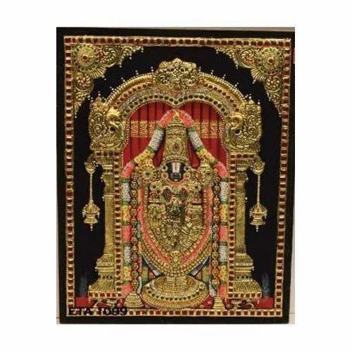 Balaji Handmade Tanjore Painting