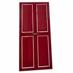 Polyline Polished Red PVC Door