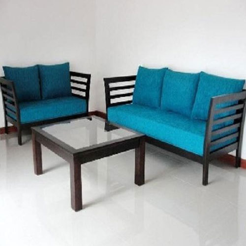 Home Craft Polyester Wooden Office Sofa Set, Rs 32000 /set ...