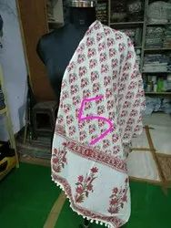 Blocked Printed Cotton Ladies Stole