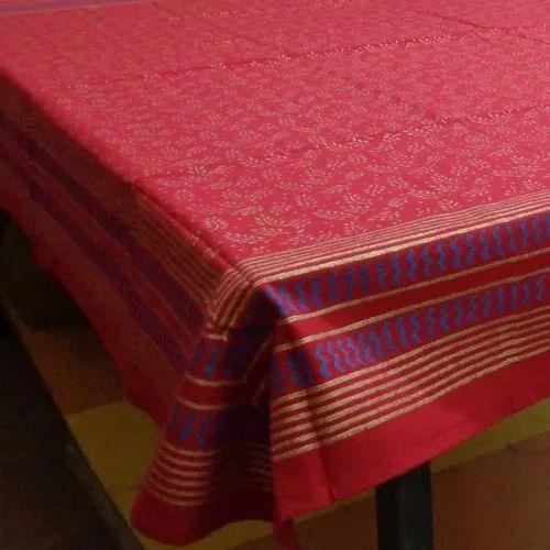 "Hand Block Print Bagru Cotton Table Napkin 20/"" x 20/"" Red"