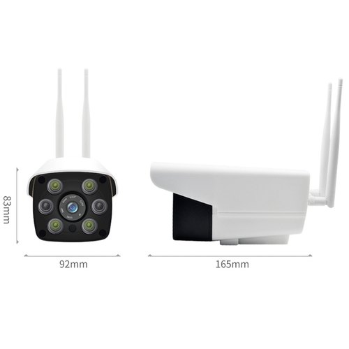 V380 Waterproof Outdoor WiFi Camera with Color Night Vision