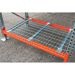 Pallet Rack Wire Mesh Decking, Size: 800x600x640 Mm, for In Pallet Rack