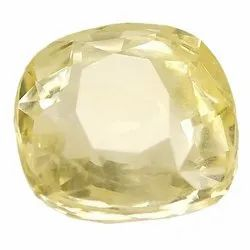 Cushion - Cut Unheat Ceylon Yellow Sapphire