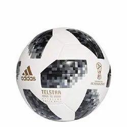 White PVC Adidas Football